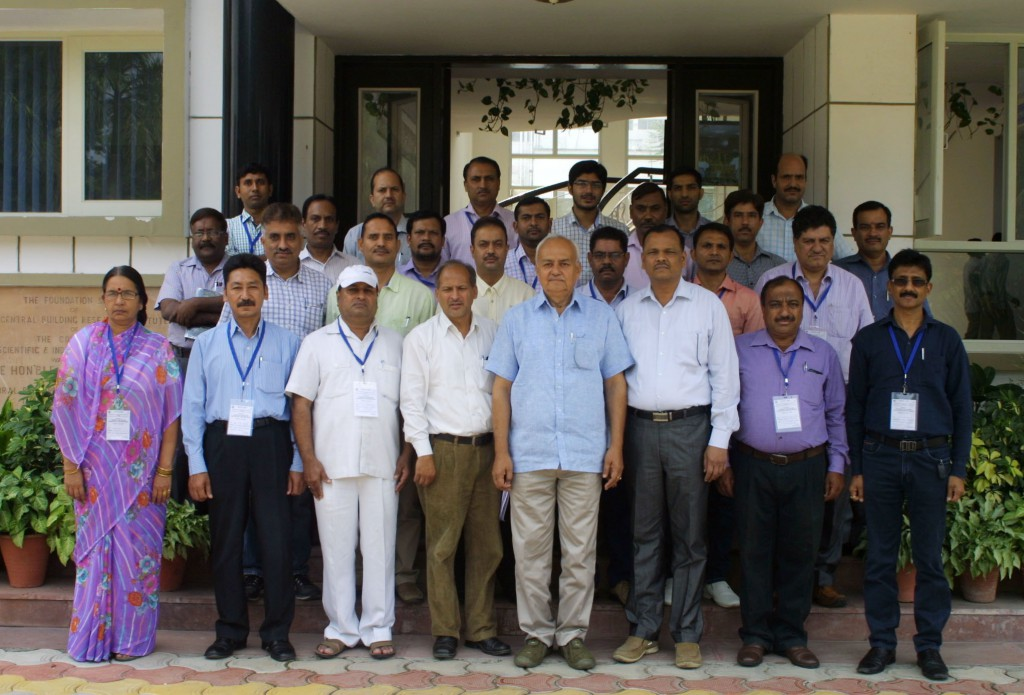 Group Photo of participants of Training Course
